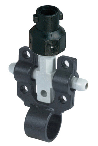 BAYONET NOZZLE HOLDER WITH DOUBLE CLAMP