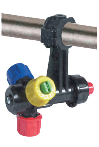 ANTIDROP TRIPLE NOZZLE HOLDER INTERNAL SUPPLY WITH SCREW CAP