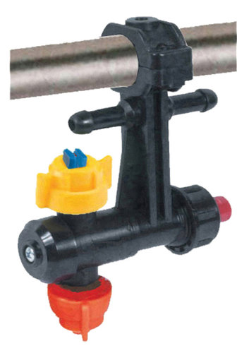 ANTIDROP DOUBLE NOZZLE HOLDER EXTERNAL SUPPLY WITH BAYONET CAP