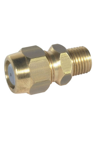 BRASS NOZZLE HOLDER FOR DRY BOOMS