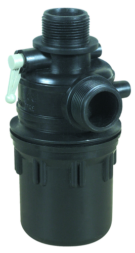 SUCTION FILTER 1 1/4'' WITH SLUICE