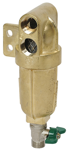 HIGH PRESSURE BRASS LINE FILTER 150 LIT/1'