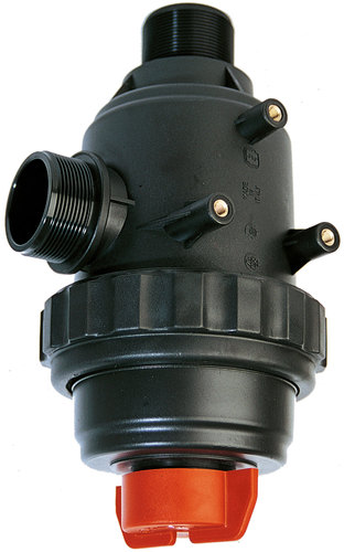 GIANT SUCTION FILTER 1 1/2'' WITH VALVE