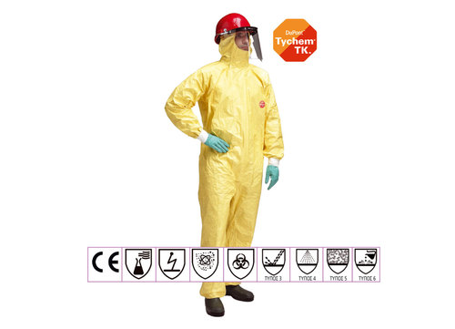 YELLOW UNIFORM TYVEK